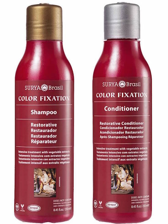 Surya Brasil Color Fixation Restorative Shampoo and Conditioner