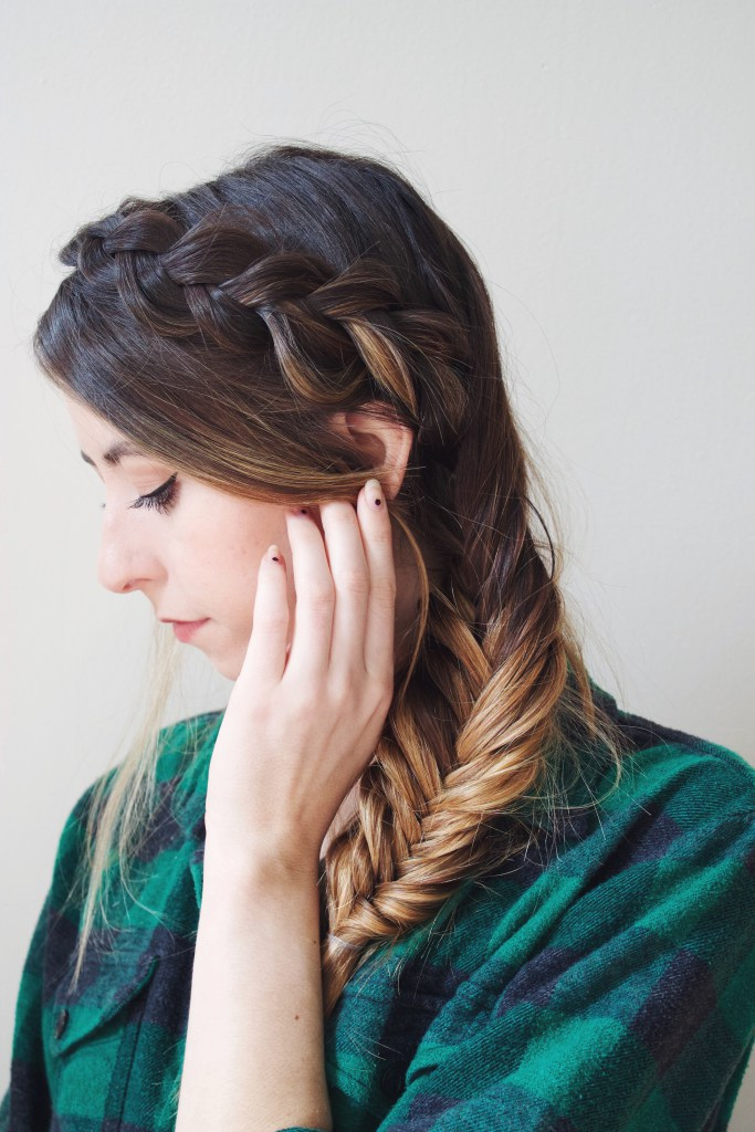 Easy DIY dutch braid