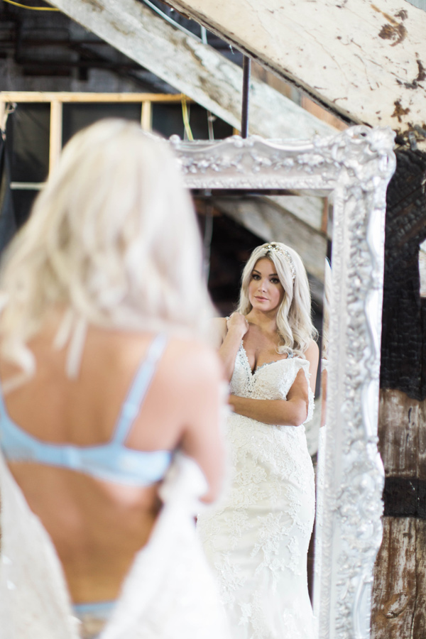 bridal boudoir - photo by A.Fogarty Photography http://ruffledblog.com/romantic-bridal-boudoir-inspiration