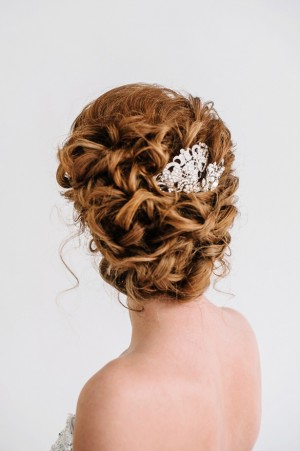 Bridal up do - ALI SUMSION PHOTOGRAPHY