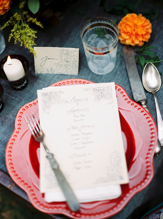 Hand-lettered menu   5 Photography