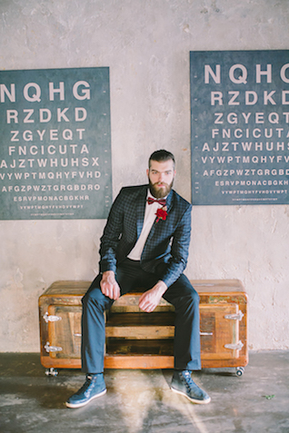 Industrial wedding inspiration shoot | Natalia Donskih Photography