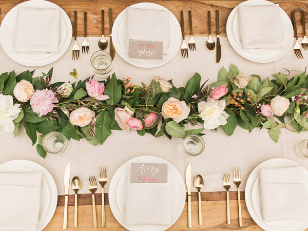 tablescape - photo by Fabiola Isabel Photography http://ruffledblog.com/charleston-styled-bridal-shower