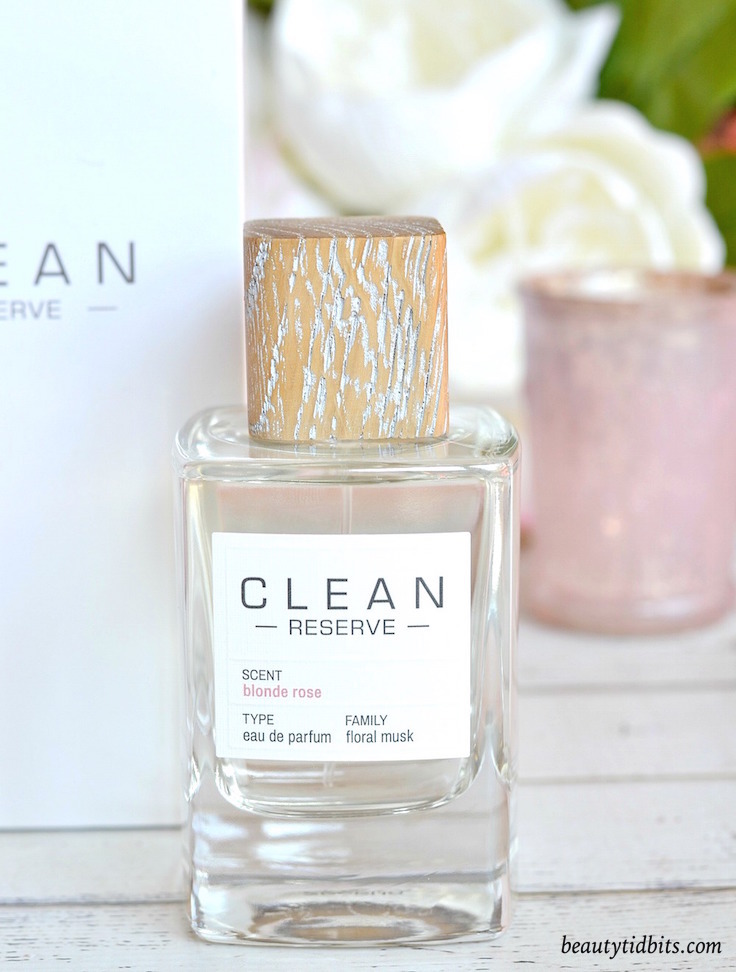 CLEAN Reserve Blonde Rose fragrance