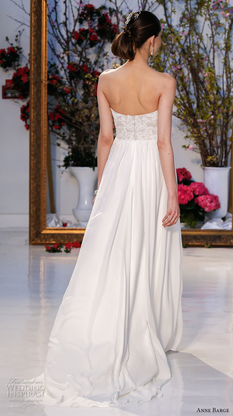 anne barge spring 2017 bridal strapless sweetheart neckline lace bodice pretty modified a line wedding dress lace back sweep train (013) bv