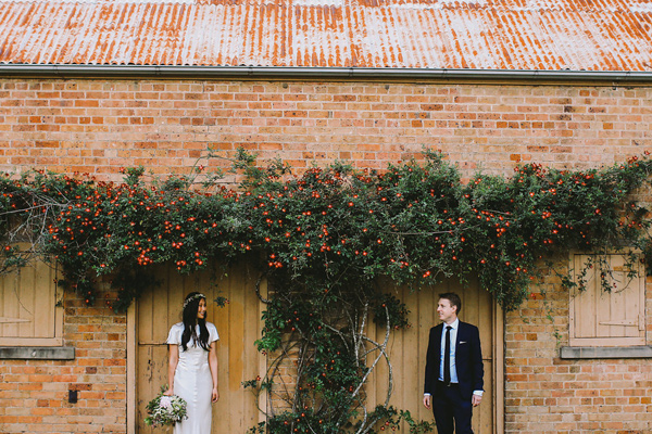botanical Australian barn wedding - photo by Lara Hotz Photography http://ruffledblog.com/botanical-australian-barn-wedding