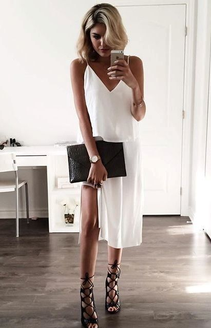 17 Summer Outfits With Slip Dresses