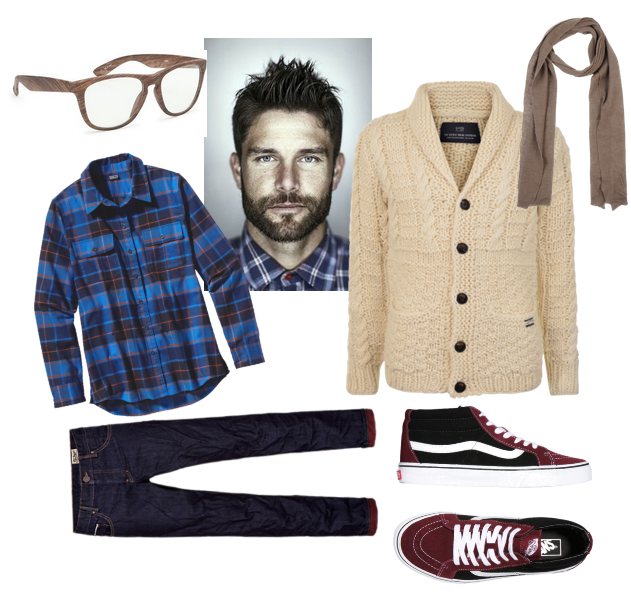 men's fashion with cardigans (2)