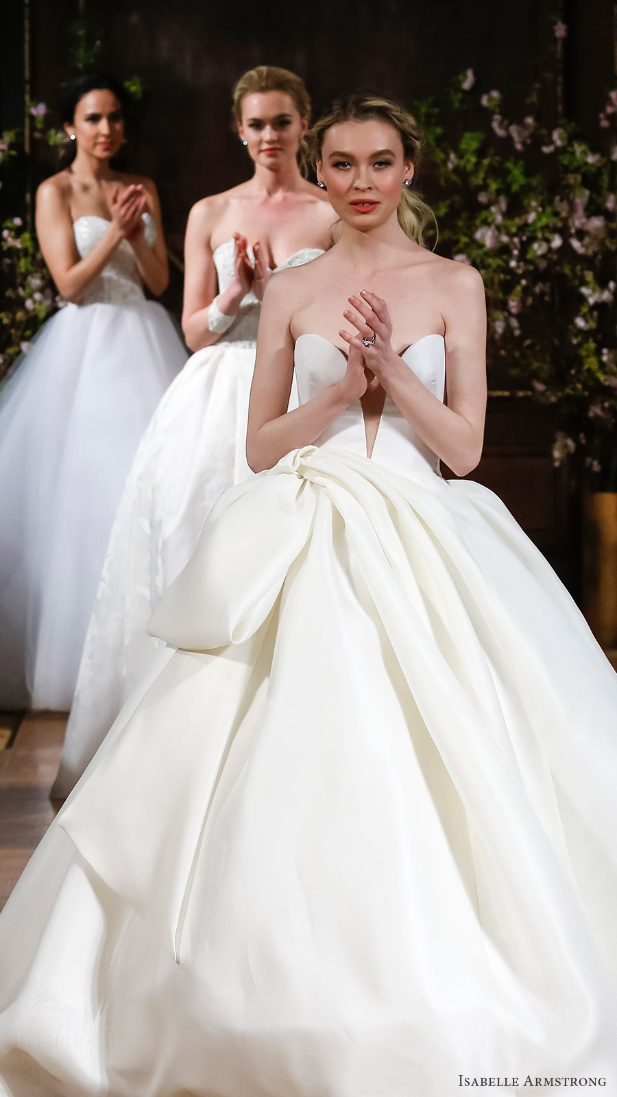 isabelle armstrong bridal spring 2017 runway finale