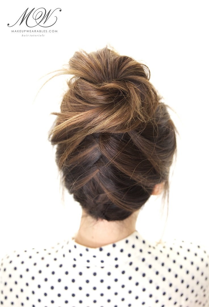 "Today you can find so many bun hairstyles and that makes choosing really difficult. In order to help you with this, we picked 10 amazing buns that you can try out. These will really help you during lazy days, busy days or ""don't know how to fix my hair"" days. From messy to braided, pick your favorite. #Hairstyles #Beauty"
