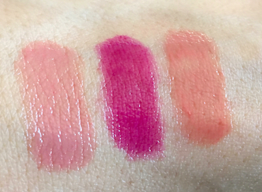 Ciaté London Pretty Stix swatches