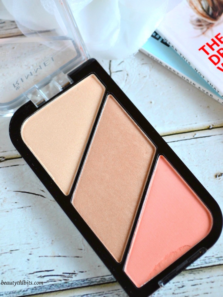 Rimmel Kate Sculpting and highlighting kit inn Coral Glow