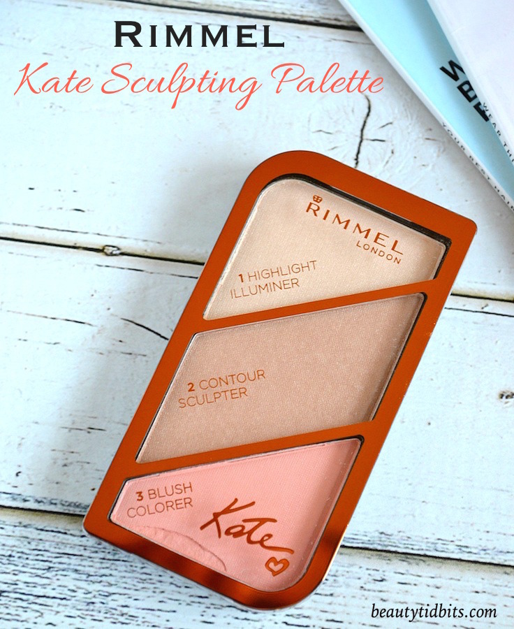 Rimmel London Kate Sculpting Palette in Coral Glow
