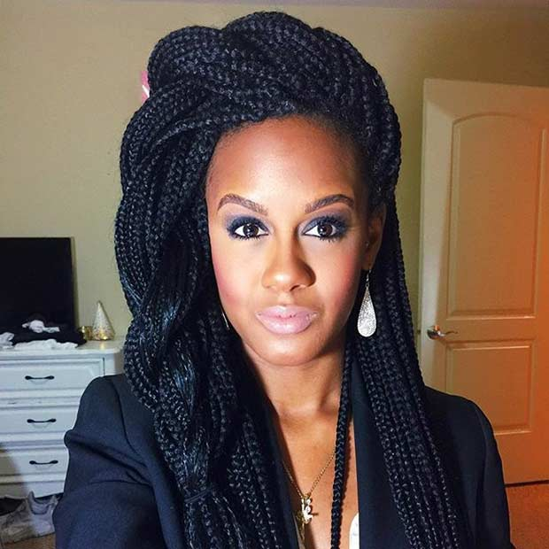 Box Braids Protective Hairstyle for Summer