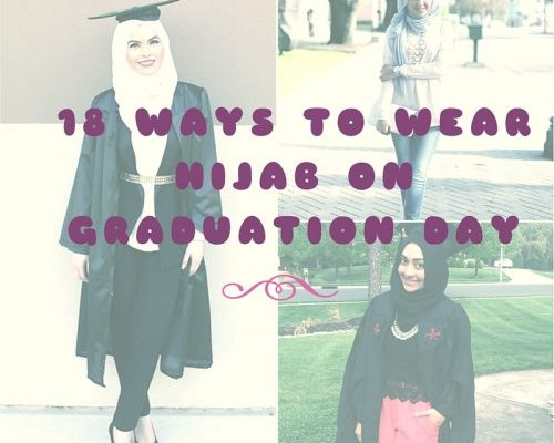c558b66c821 Hijab Graduation Outfit-18 Ways to Wear Hijab on Graduation Day