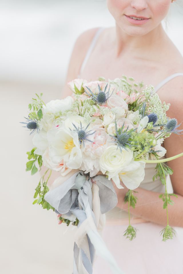 Bouquet with poppies and thistle | 1313 Photography