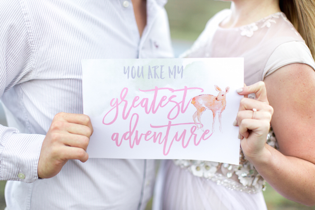 Calligraphy engagement session | Photography: Ian Odendaal | Burnett's Boards