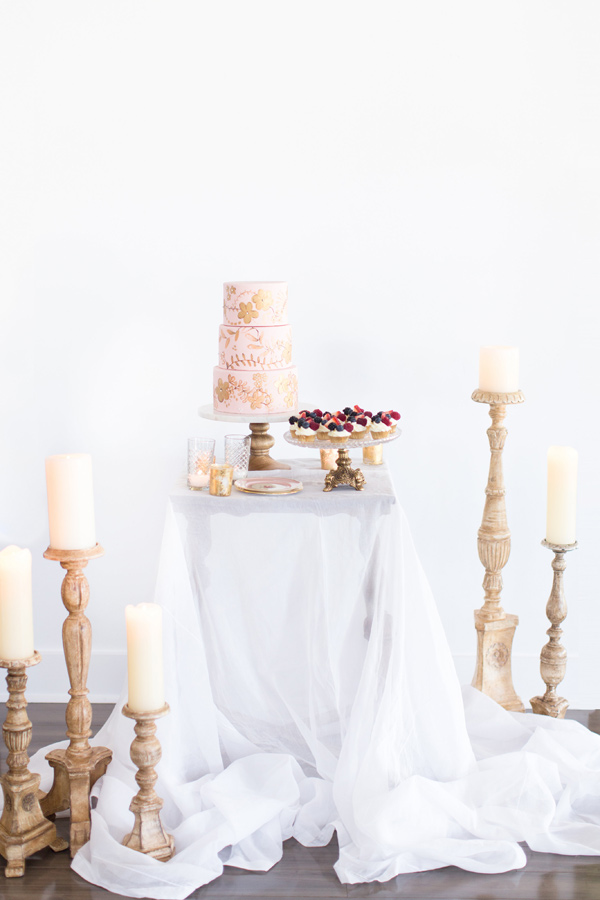 dessert table - photo by Amy and Jordan Photography http://ruffledblog.com/handcrafted-romance-wedding-inspiration