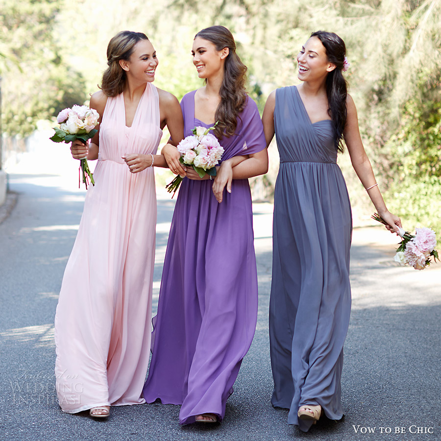 vow to be chic 2016 aidan bridesmaid dress mismatch mix match bridesmaids gowns for rent front
