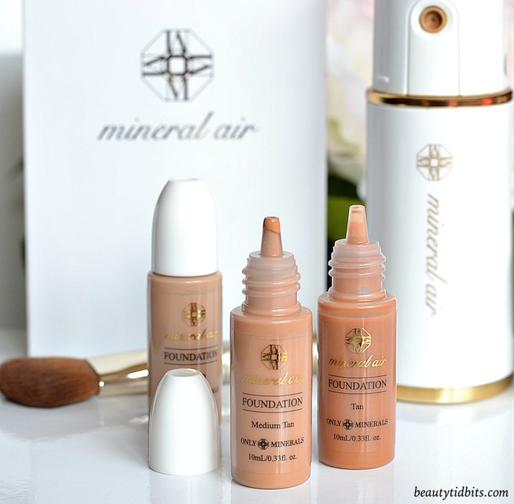 Mineral Air Airbrush foundation