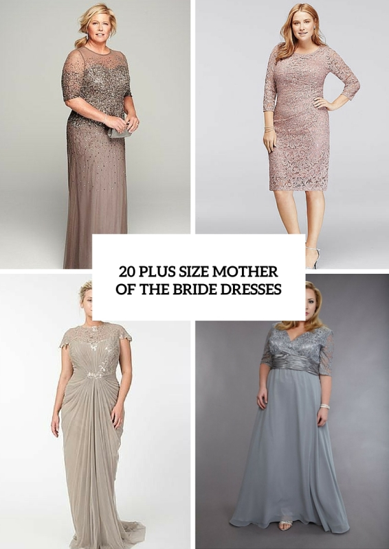 20 Stunning Plus Size Mother Of The Bride Dresses | Wedding