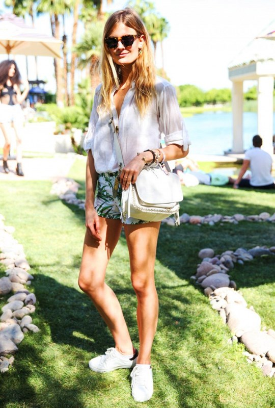 White Fringe Cross Body Bag