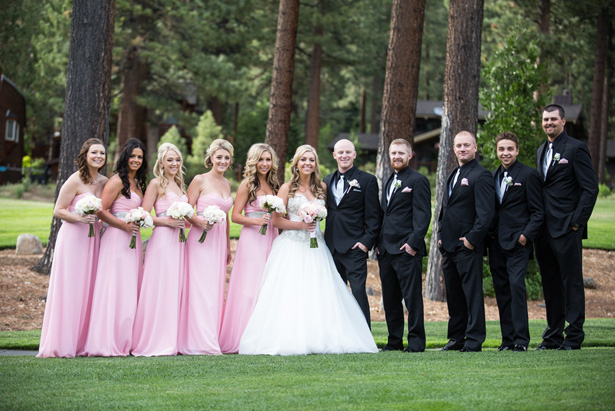 Lake Tahoe Wedding - Jeramie Lu Photography