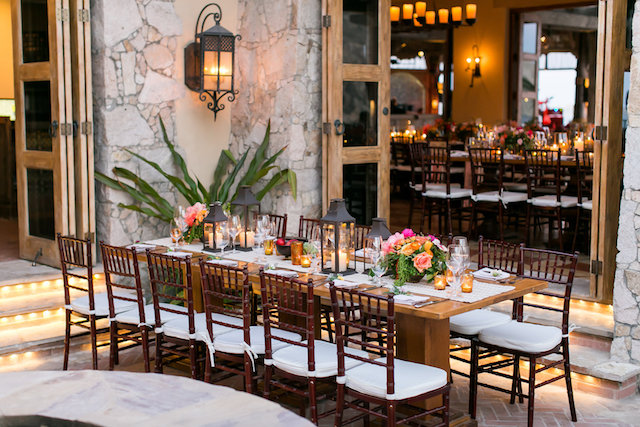 Destination wedding in Mexico reception | Ana & Jerome Photography