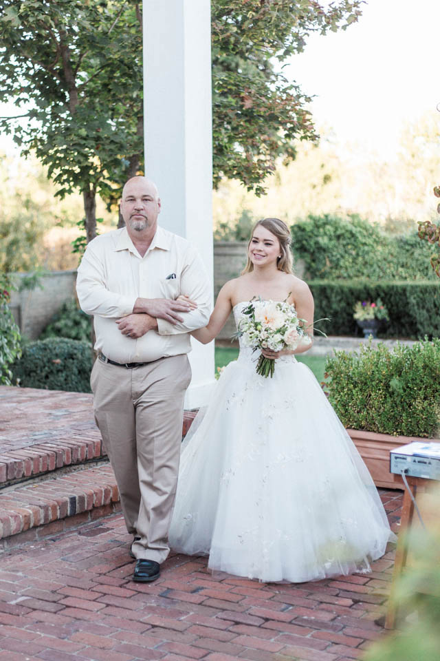 Bride and father | Katlyn Marie PhotoArt