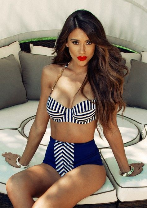 26 Hottest High Waist Bikinis To Rock This Summer