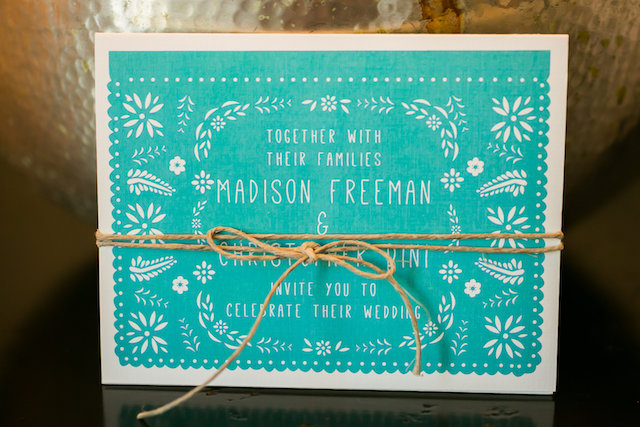 Mexico destination wedding invitations | Ana & Jerome Photography