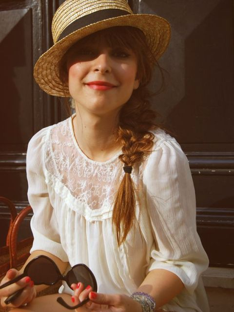 21 Outfit Ideas With Straw Hats For Summer