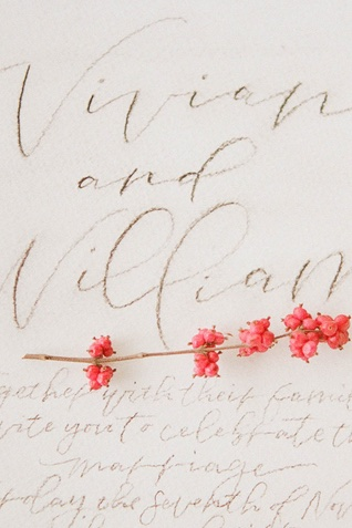 calligraphy stationery| Jess Watson Photography