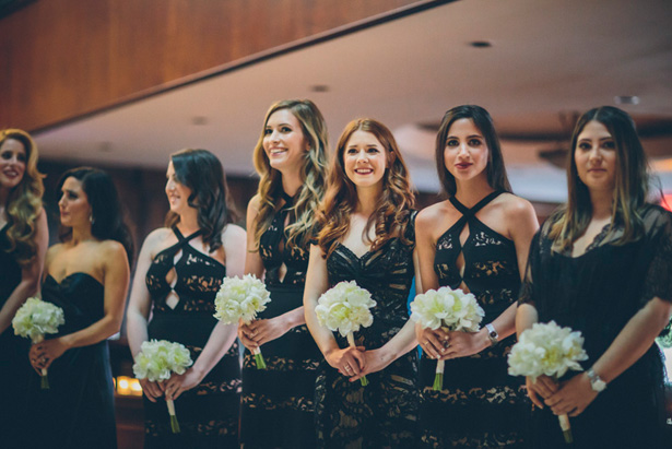 Black bridesmaid dresses - Kane and Social