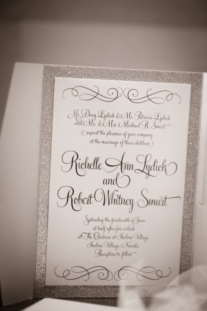 Wedding invitation - Jeramie Lu Photography