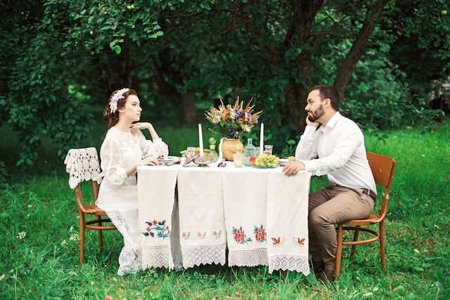 Russian styled shoot