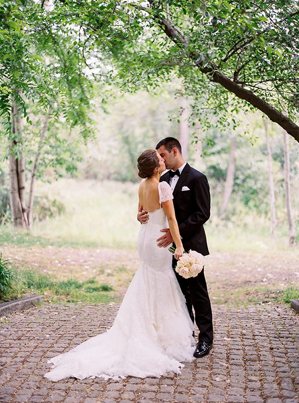 short sleeve wedding dresses photo by Ryan Flynn Photography http://ruffledblog.com/walla-walla-vineyard-wedding