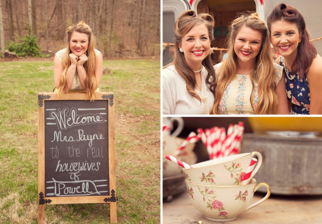 23 Retro Housewife Bridal Shower Ideas