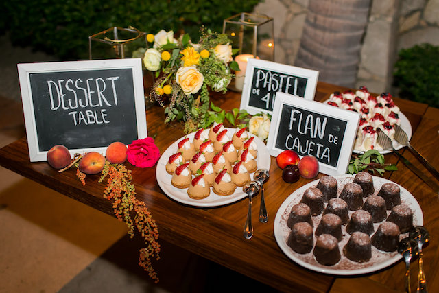 Mexican wedding desserts | Ana & Jerome Photography