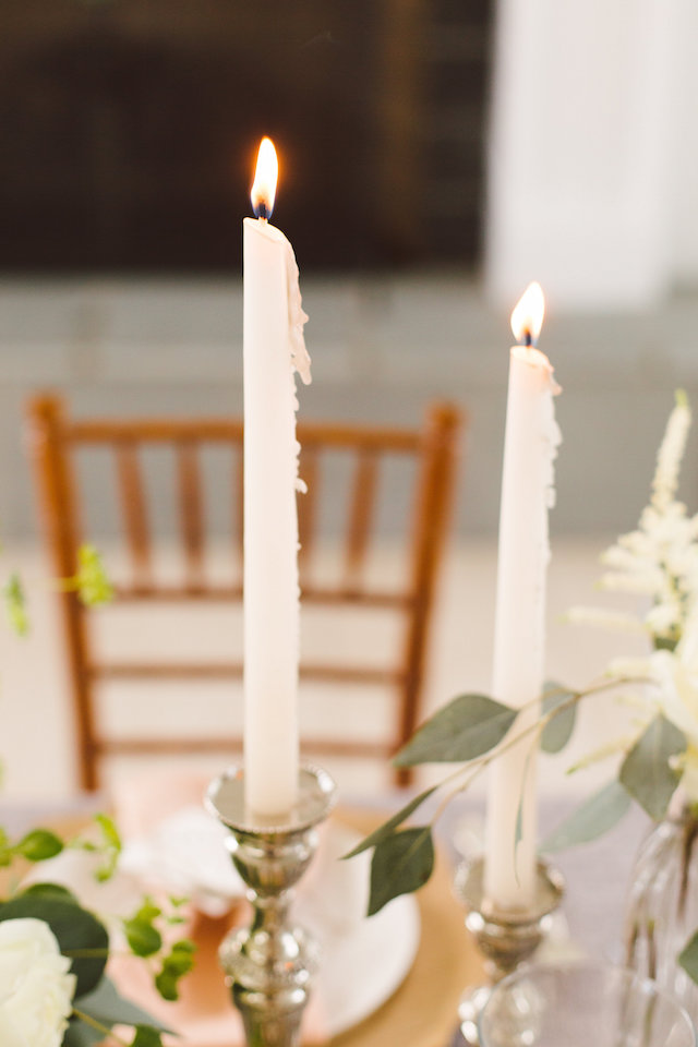 dripping candles | Photography: Brooke Michelle Photography