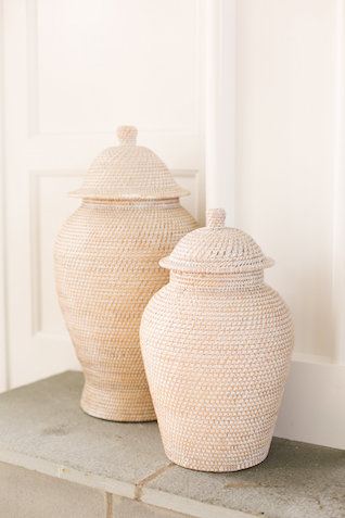 woven vases | Photography: Brooke Michelle Photography