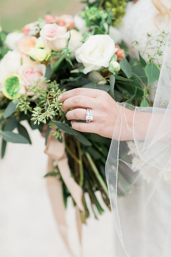 wedding rings - photo by Erin Wilson Photography and Angela Sostarich Photography http://ruffledblog.com/southern-oak-tree-wedding-inspiration