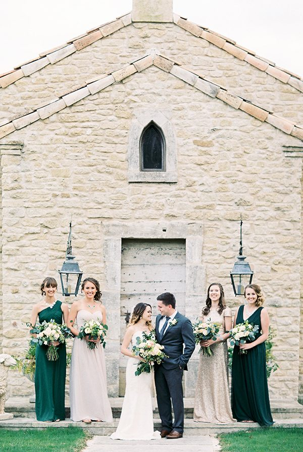 Southern Oak Tree Wedding Inspiration - photo by Erin Wilson Photography and Angela Sostarich Photography http://ruffledblog.com/southern-oak-tree-wedding-inspiration