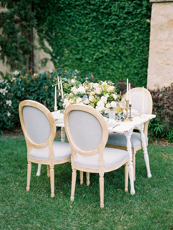 wedding inspiration - photo by Erin Wilson Photography and Angela Sostarich Photography http://ruffledblog.com/southern-oak-tree-wedding-inspiration