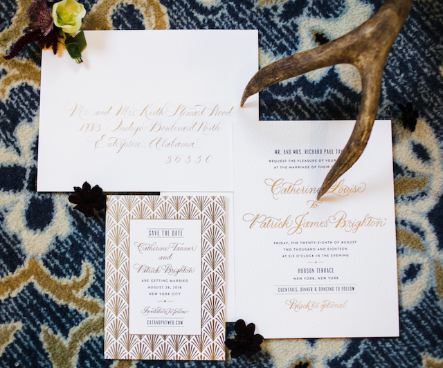 Deco wedding invitations | Shhivika Chauhan Photography