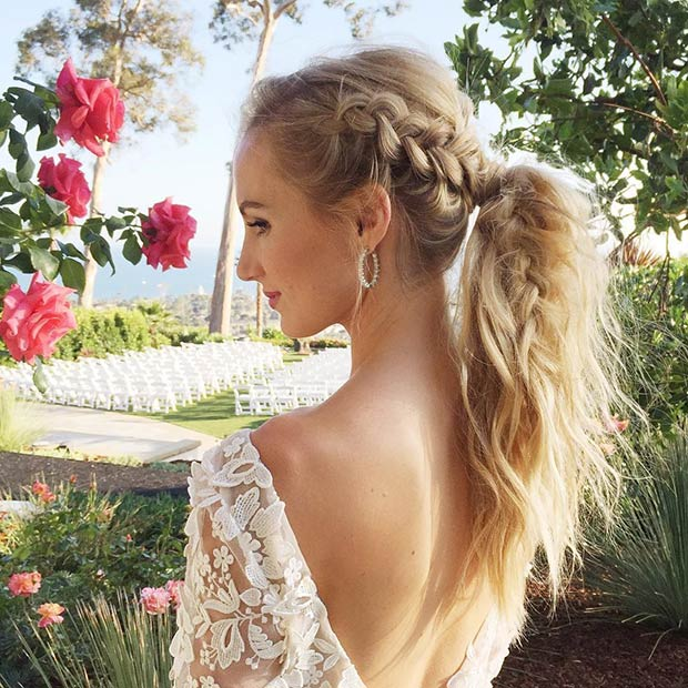 Wedding Hairstyle Ponytail: 25 Elegant Ponytail Hairstyles For Special Occasions