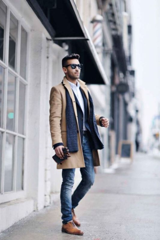 Elegant Skinny Jeans Look With A Coat
