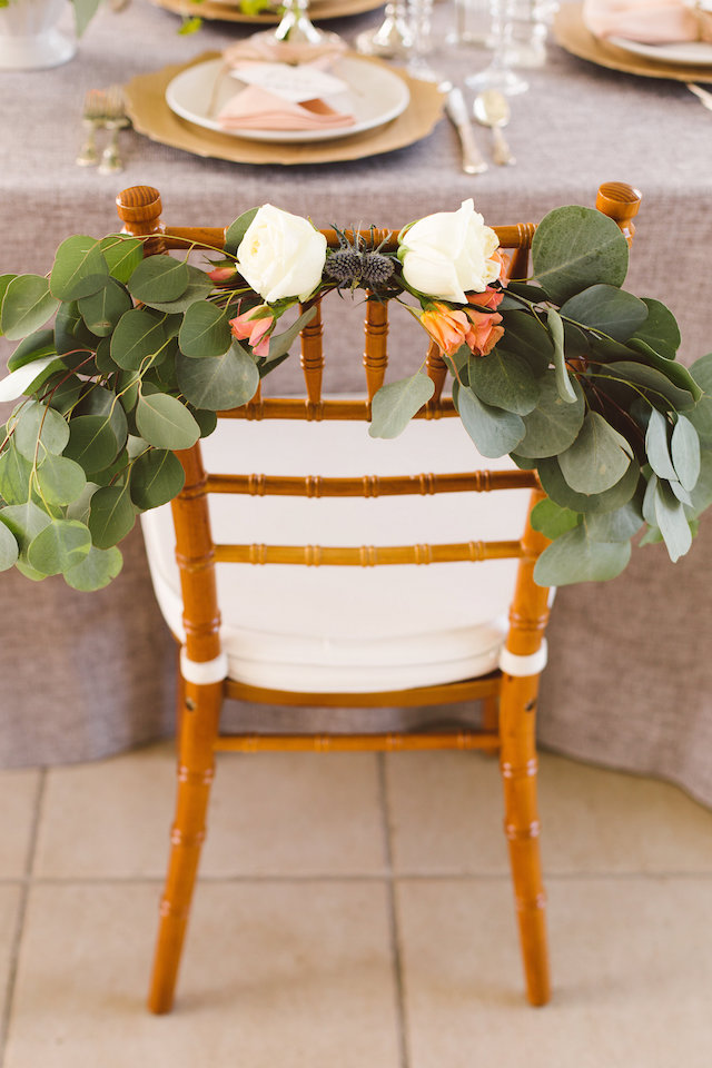 chair decor | Burnett's Boards | Photography: Brooke Michelle Photography