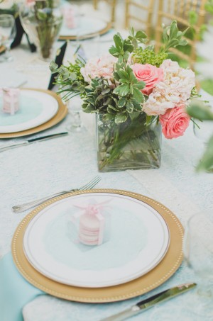 Wedding place setting - Paper Ban Photography