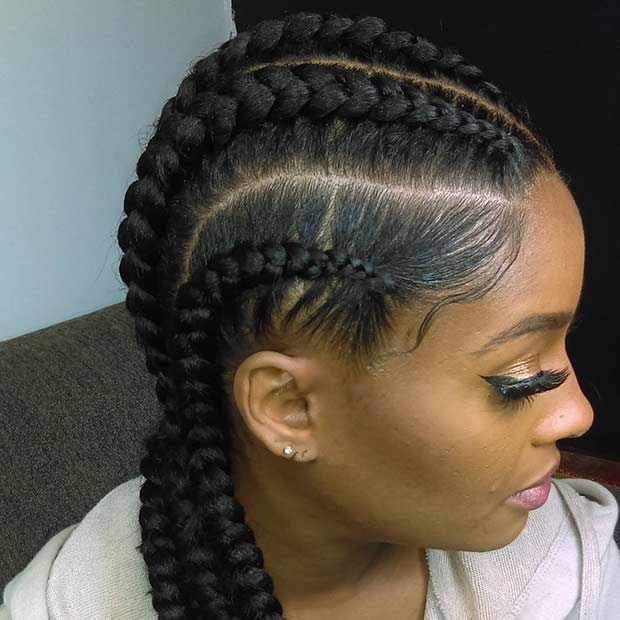 Banana Braids for Black Women